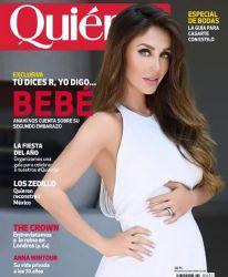 Revista Quién Importada - Anahi Grávida