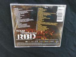 CD+DVD Tour Generacion - Importado MX (Com medley)