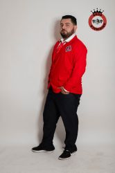 Blazer Rebelde Masculino -  Vermelho