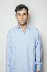 Camisa Social Masculina - Azul