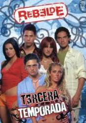 DVD - Terceira Temporada de Rebelde